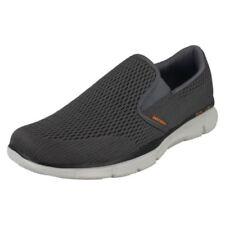 Chaussures gris Skechers pour homme, pointure 45