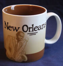 2009 STARBUCKS NEW ORLEANS GLOBAL ICON SERIES MUG 16oz. MINT CONDITION