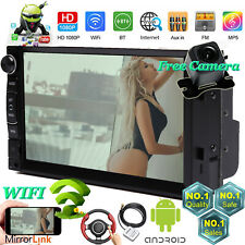 Android TouchScreen Bluetooth HD MP5 Radio Stereo Wifi GPS+Camera Fit GMC Canyon