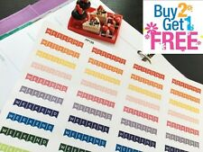 PP188 -- Weekend Banners Life Planner Stickers for Erin Condren  40pcs