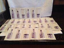 10  Pureology Anti Fade Hydrate Shampoo, Conditioner & Hydra Whip .25 oz. Sampl