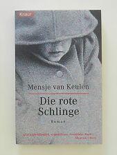Mensje van Keulen Die rote Schlinge Roman Thriller Knaur Verlag
