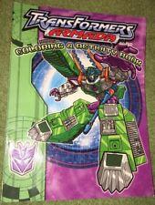 Green Transformers Coloring Book - Armada Activity 2003