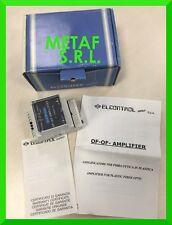 ELCONTROL - AMPLIFIER FOR PLASTIC FIBER OPTIC