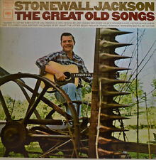"""Stonewall Jackson - The Great Old Songs Columbia CS 9708 12 """" LP (x 243)"""