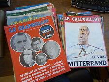 Lot de 32 le crapouillot - magazine non conformiste - Crapouillot