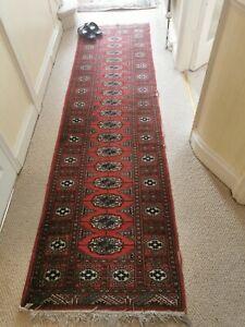 Vintage Authentic Persian rug runner handmade Wool