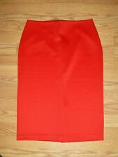 Ladies Size 8 New York & Company Red Skirt