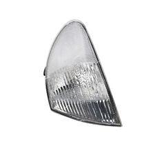 Front Left Indicator Turn Signal Light White Lens For BMW 3-series E46 1998-2001