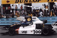 9x6 fotografia JARIER ACCENDI-Ombra-DN6/Redman Lola T332 F5000 Watkins Glen 1975