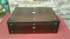 Antique Rosewood Box Vgc   NICE INTERIOR