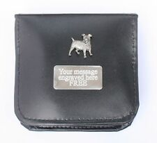 Jack Russell Shoe Polishing Set Brushes, Cloths With Personalised ENGRAVING
