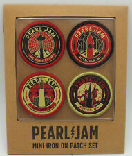 Pearl Jam 2018 The Home Away Shows Patch Set Boston Chicago Wrigley Missoula