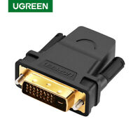 Ugreen 24+1 DVI-D DVI to HDMI Adapter Connector Converter Male to Female 1080P R