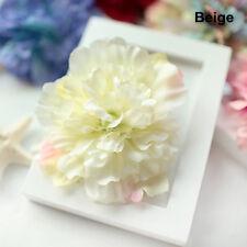 Bohemian Simulation Peony Flower Hair Clip Headdress Bridal Wedding Decoration