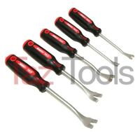 5pc Interior Door Panel Upholstery Trim Fastener Stud Removal Tool Pry bar clip