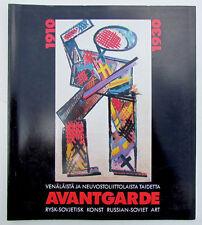 RUSSIAN SOVIET 1910-1930 AVANT-GARDE ILLUSTRATED EXHIBITION CATALOG BOOK