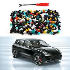 500 Pcs Auto Car Body Plastic Push Pin Rivet Fasteners Trim Panel Moulding Clip