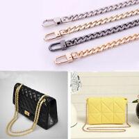 100cm 9mm Metal Chain Replacement Strap Belt For Women's Handbag Shoulder Bag