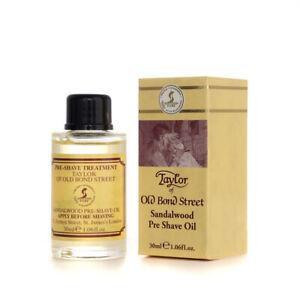 TAYLOR OF OLD BOND STREET Sandalwood Pre Shave Oil 30 ML - 0696770010983