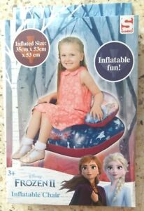 Frozen Disney Inflatable Chill Chair Toy New