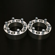 """2pc 1.5"""" Wheel Spacers - 6x139.7 to 6x139.7 - 14x1.5 Stud - for GMC Chevrolet"""