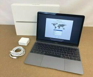 "⭐ Apple MacBook 12"" i5 7th Gen. 16GB RAM 512GB SSD Space Gray 2017 ✅❤️️✅❤️️"