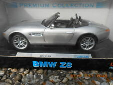 aus Sammlung Modellauto 1 18 BMW Z8 silbermetallic Fa. Welly Premium Collection