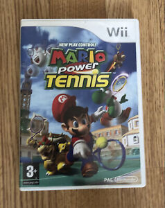 Mario Tennis Nintendo Wii Game Boxed Good Condition 1ST CLASS Postage