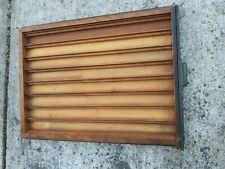 Vintage Wooden Printers Tray Shadow Box Machinist