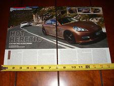 2010 PORSCHE PANAMERA - ORIGINAL ARTICLE