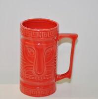 Budweiser Bud Light Tiki Hawaiian Mug Kick 10 Promotional Beer Cup Red 16oz