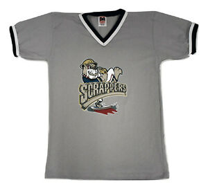 Don Alleson Womens Mahoning Valley Scrappers Baseball Jersey New S, M