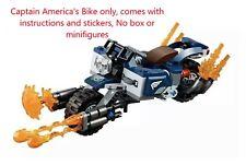 LEGO Captain America's Bike only - Split From LEGO Avengers 76123