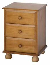 Pine Traditional 61cm-65cm Height Bedside Tables & Cabinets
