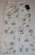 NWT Abercrombie KIDS Girls Vintage PJ Lounge Sleep Pants Cream S