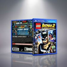 Lego Batman 2: DC Super Heroes - PlayStation Vita Cover and Case. NO GAME!!