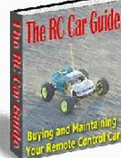 Radio Controlled Car Guide ebook on CD