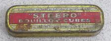 Vintage Steero Bouillon Cubes Tin