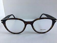 New PRADA VPR 0T7 2AU-1O1 50mm Round Tortoise Eyeglasses Frame  #4