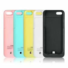 iPhone 5 / 5S / 5C / SE Battery Case Power Bank Portable Charger Cover 2200mAh