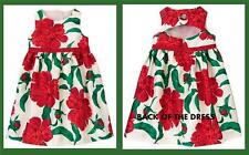 Gymboree Joyful Holiday Floral Rose Christmas Special Occasion Faux Gem Dress 2T
