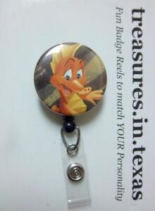 SEAHORSE Herald from Disney Little Mermaid Retractable Reel ID Badge U PICK REEL
