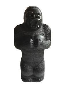 "Blow Mold Plastic King Kong Gorilla Bank Union Products 17"" Renzi Mold New"