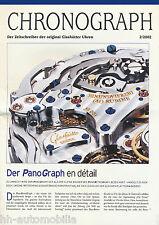 Prospekt Glashütte - Chronograph 2/02 (D) brochure Glashutte watches