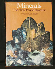 De Michele MINERALS: BEAUTY & STRUCTURE hcdj Revised 2nd Ed Color Plates VG+