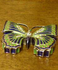 Jeweled Trinket Box #JB548 BUTTERFLY, NEW from our Retail Store Mint/box