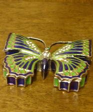 "Jeweled Trinket Box #JB548 BUTTERFLY, NEW/Box From Retail Store, 0.5"" x 3"""
