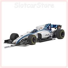 "Scalextric C4021 Formel 1 Williams FW41 ""No.18 L.Stroll"" 2018 1:32 Auto Slotcar"