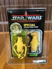 Vintage Kenner Star Wars MOC AFA75Y POTF Amanaman